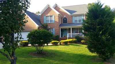 Photo for Beautiful lake view 4 bedroom home high point North Carolina