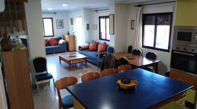 Photo for BEACH 2 MINUTES IDEAL FAMILIES, PRIVATE POOL, LEISURE ROOM, WIFI, BARBECUE