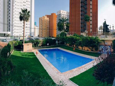Photo for Great apt in the heart of Benidorm,close to the beach!