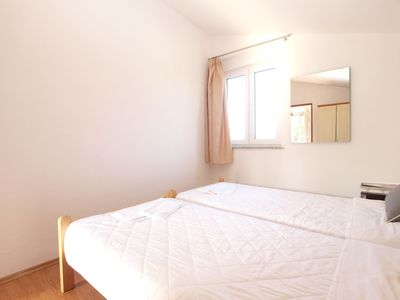 Photo for Apartment for 2 people with 2 extra beds (ID 15836)