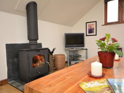 Cosy woodburner for those cooler evenings