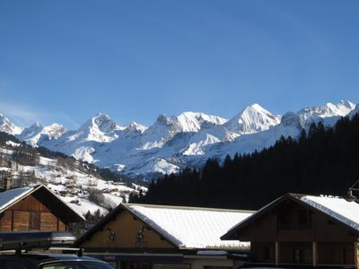 Photo for Le Grand Bornand town center south appt 2 * NN