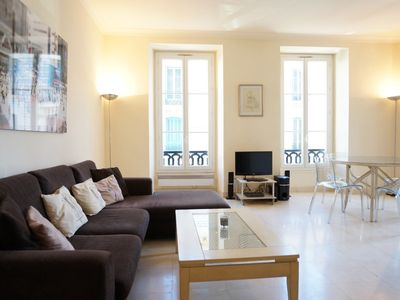Photo for This bright, spacious apartment is located in the heart of the city.