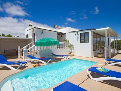Photo for 3 bedroom Villa, sleeps 6 with Air Con, FREE WiFi and Walk to Beach & Shops