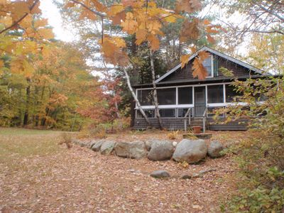 Photo for Lake Front Home On Little Squam With Guest House And Private Pier.