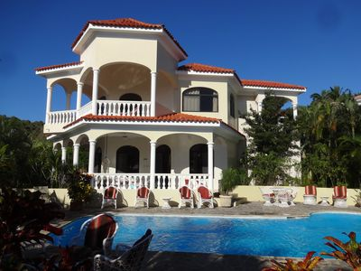 Photo for Villa Playamor, Luxury fully staffed beach villa including cook