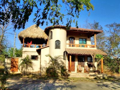 Photo for Popoyo Palmeras 2Bed/2Bath Private community steps from beach/surf break