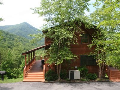 Photo for Beautiful Mountain Views  & Lake Access**1 Mile from Smoky Mountain Nat'l Park!!