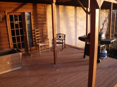 Photo for Rustic Lodge (Lower Level) King Bed, Secluded, Close To Branson & Buffalo River