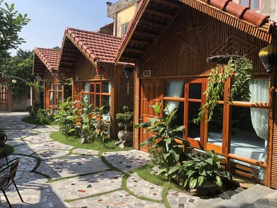 Photo for Bungalow with garden view just 5 min to Tam Coc and many shop, restaurant...