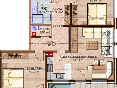 Photo for Apartment Manuel - apartment / apartment, shower, toilet, 2 bedrooms