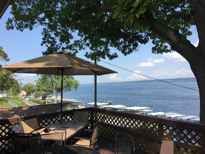 Photo for Stunning View from a Lakefront Home In The Heart Of The Finger Lakes!