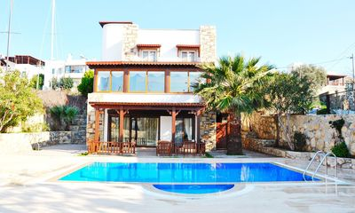 Photo for Ortakent Villa, Sleeps 9 with Pool and Air Con