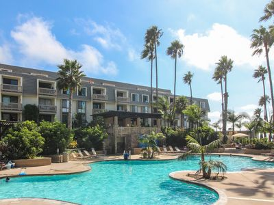 Photo for Enjoy a shared pool, hot tub, & gym - walk to Oceanside Pier