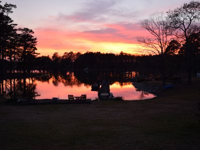 Photo for Lake Front Apartment located on a nice quiet cove on Lake Murray!