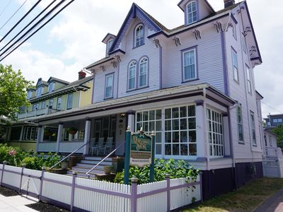 Photo for Sanitized Historic Victorian fully renovated, 2-3 blocks from downtown/beach