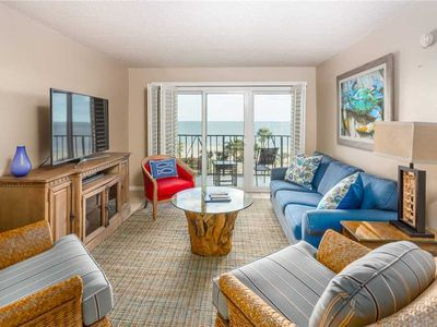 Photo for Spacious and Oceanfront Condo on St Simons! Great for Small Families! Pool & Beach Access