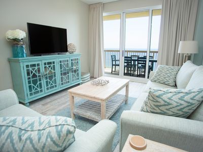 Photo for Beach chairs included Gulf front 3 bedroom 2 bath sleeps 8 to 10 guest