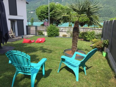 """Photo for Apartment on Lake Annecy """"surf-lodge"""""""
