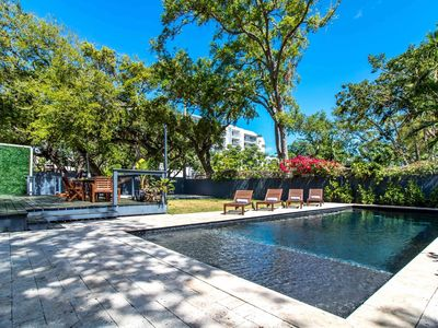 Photo for Sextant's Bayside Haven—Heated Pool, Hot Tub, 10 minutes to South Beach