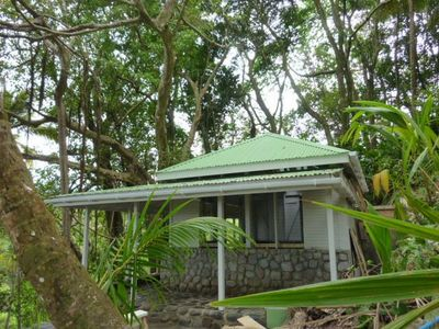 Photo for Stone Cottage around a Banyan tree