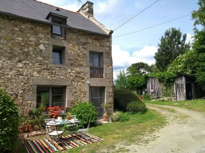 Photo for Charming stone cottage completely renovated
