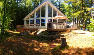 Remote Working in Muskoka -  Family Friendly Granite Point Cottage
