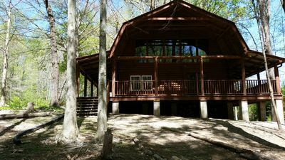 Photo for Rustic 3 BR Cabin near Chateau Elan Winery/Resort, Rd ATL & UGA Athens