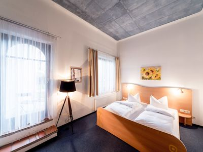 Photo for Double room Basic with terrace - artHOTEL Magdeburg GmbH