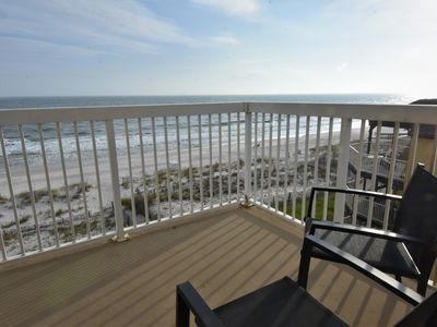 Photo for Caribbean 404 ~ Dog Friendly (Add'l Fee) ~ Beach Front ~ Bender Vac Rentals