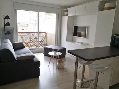 Photo for ARCACHON HYPER CENTER TOWN BEAUTIFUL STUDIO ACCESS BEACH 2 BEDS