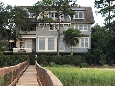 Photo for Beautiful 5 Bedroom Home on the Kiawah River with Dock
