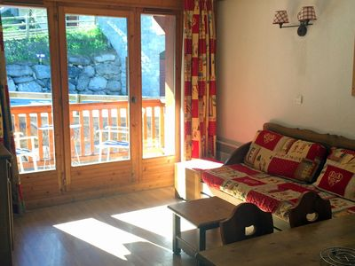 Photo for 2 rooms 4 people 3* exposed south east