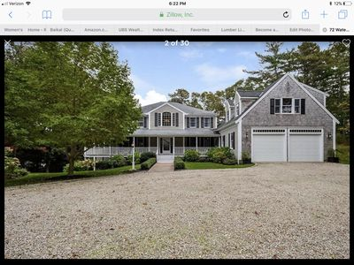 Photo for Lakefront Cape Cod Vacation Home