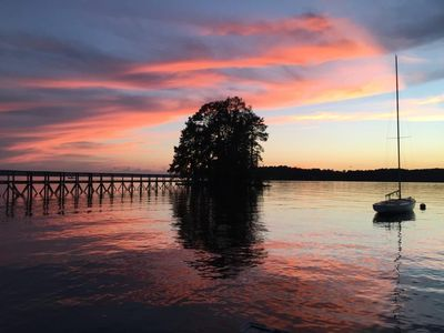Photo for Private Point Paradise-3 Bedroom 2 Bath-Big Water Views -Bridge-Dock -Boat Ramp