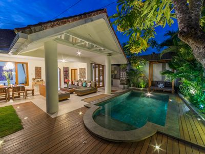 Photo for Cozy Villa-Pool-BBQ-WIFI, Seminyak Side