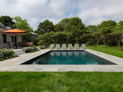 Photo for Gorgeous Katama Home With New PebbleTec Gunite Pool -- Ferry Tickets Available