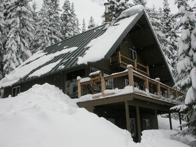 Ski, snowboard, snowshoe, or just relax in the mountains away from the city.