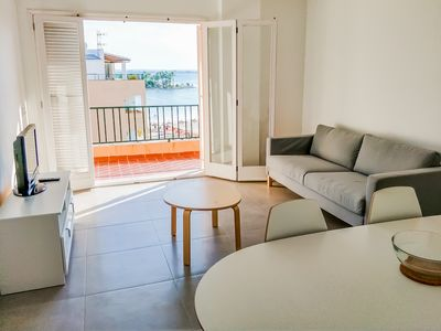 Photo for Renovated apartment on the beach in Alcúdia