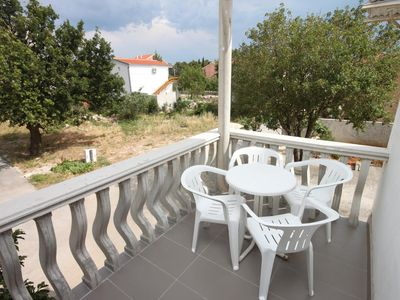 Photo for One bedroom apartment with terrace Starigrad (Paklenica)