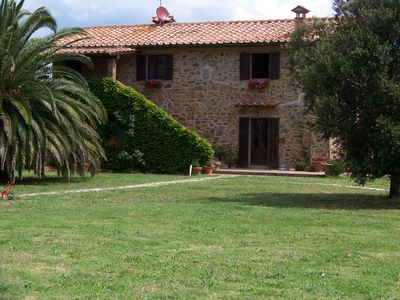 Photo for Beautiful Maremma farmhouse