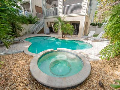 Photo for Private Pool with HOT SAVINGS this August! 3 BR / 2.5 BA in Holmes Beach, FL