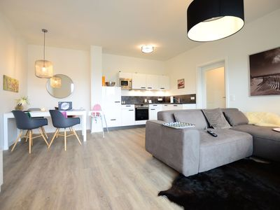 Photo for New exclusive barrier-free apartments right on the waterfront 80sqm (D12)