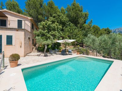 Photo for SON BOU - Villa with private pool in Soller.