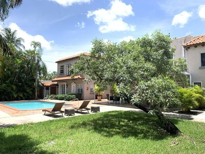 Photo for Private Tropical Luxury Estate with 1 house & 2 appartments with salt water pool