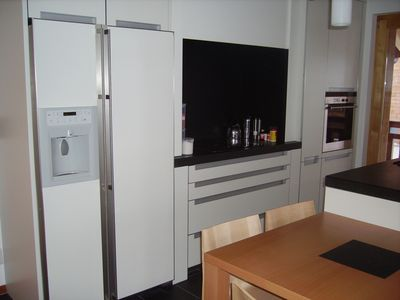 Photo for Apartment 4 rooms, 4 stars in building Plein-Ciel (approx. 150m from the telecabine). Modern open ki