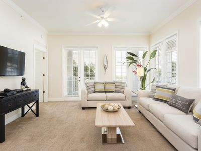 Photo for Ground Floor Condo with Beautiful Wrap Around Porch and Furnishings