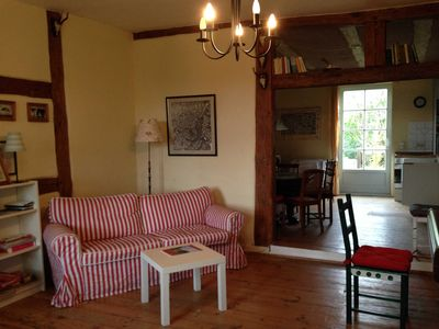 Photo for Apartment 2 Jagdzimmer ** - Cottage in the Mecklenburg Lake District