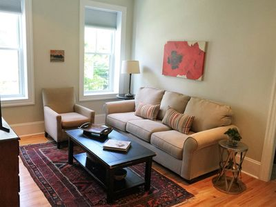 Photo for Boston/Cambridge luxury housing at public transit pking fully equipped 2 Bed