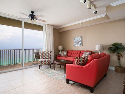 Photo for Beautiful Views From This Oceanfront Unit! Hot Tub, Pools & Theater On Site!